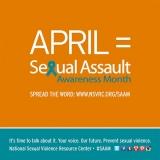 April: Sexual Assault AwarenessMonth